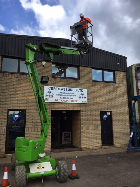 Certs Assured Training Stevenage - Crane usage