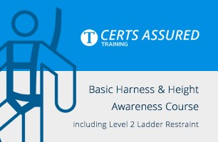 Basic Harness and Height Awareness Course including Level 2 Ladder Restraint
