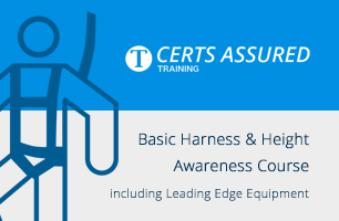 Basic Harness and Height Awareness Course Including Leading Edge Equipment